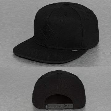 Djinns Snapback Caps Monochrome 6 Panel svart