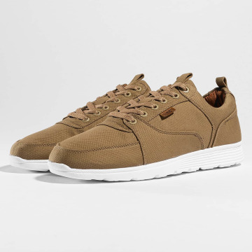 Djinns sneaker Forlow Light Canvas khaki