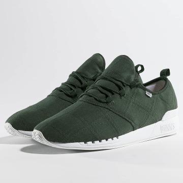 Djinns sneaker Moc Lau Mix olijfgroen