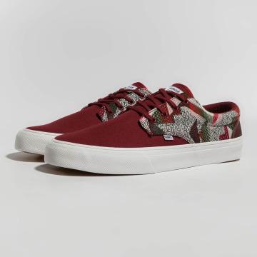 Djinns Sneaker Nice Rubber Aztek rot