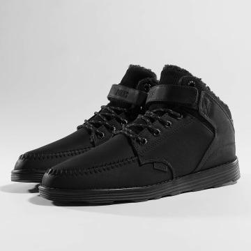 Djinns Sneaker Wunk Fur Light schwarz