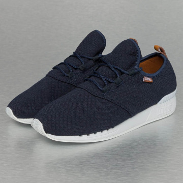 Djinns Sneakers Moc Lau Mini Padded blue