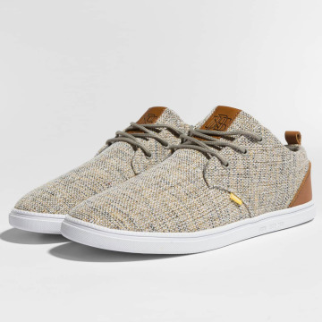 Djinns Sneakers Low Lau Colored Linen gray