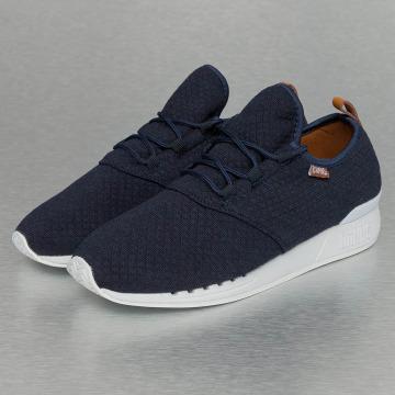 Djinns Sneakers Moc Lau Mini Padded niebieski