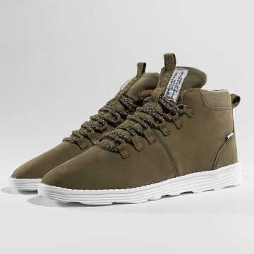Djinns Sneakers Trek High Light oliv