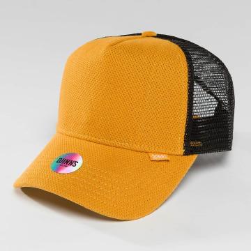 Djinns trucker cap HFT Piki Leather geel