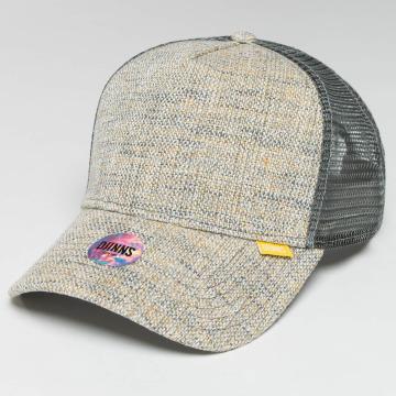 Djinns trucker cap Colored Linen grijs