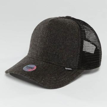 Djinns trucker cap Flannel zwart
