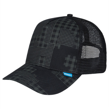 Djinns Trucker Caps Camou High Fitted sort