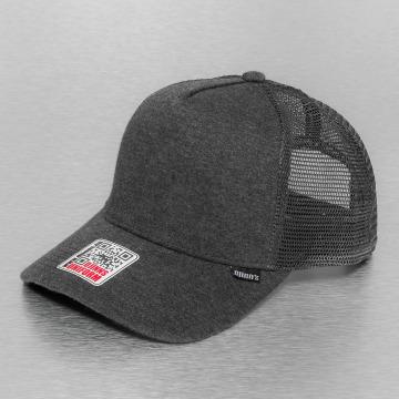 Djinns Truckerkeps Cut & Sew High Fitted grå