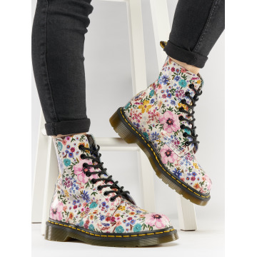 Dr. Martens Chaussures montantes Pascal Wanderlust WL Backhand Leather multicolore