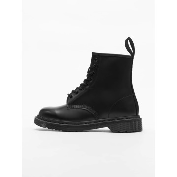 Dr. Martens Chaussures montantes 1460 8-Eye Mono Smooth Leather noir