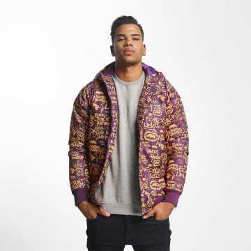 Ecko Unltd. Демисезонная куртка Allover пурпурный