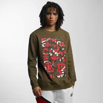 Ecko Unltd. Пуловер Military оливковый