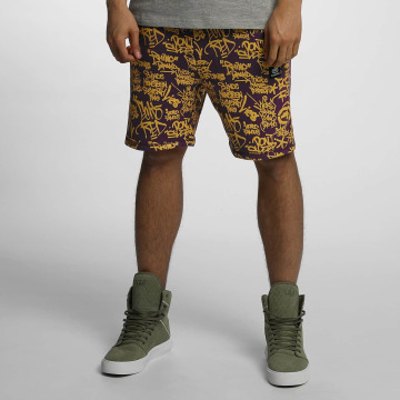 Ecko Unltd. shorts Allover paars
