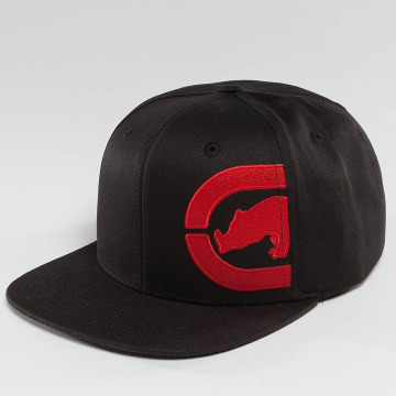 Ecko Unltd. Snapback Caps Ushi czarny