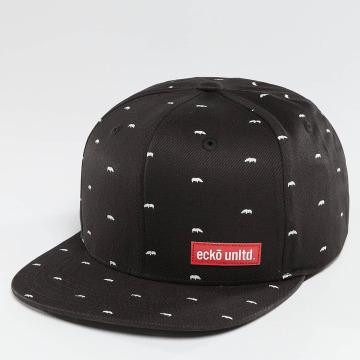 Ecko Unltd. Snapback Caps Capstar czarny