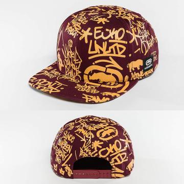 Ecko Unltd. Snapback Caps Graffiti purpuranpunainen