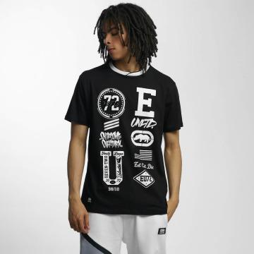 Ecko Unltd. T-Shirt College Patches black