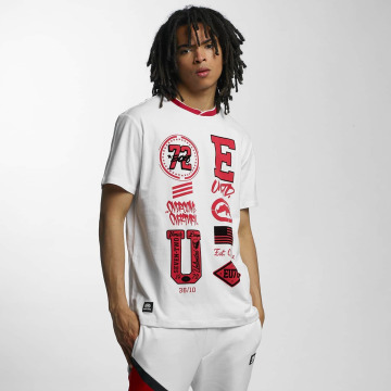 Ecko Unltd. T-shirts College Patches hvid