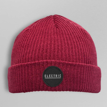 Electric Beanie RUBBER STAMP rood