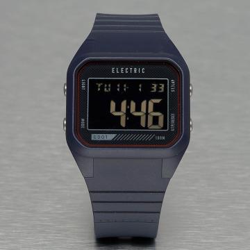 Electric horloge ED01 PU blauw