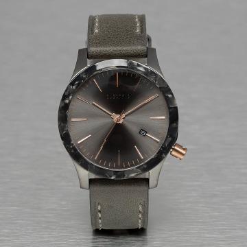 Electric horloge FW03 Leather grijs