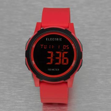 Electric horloge PRIME rood