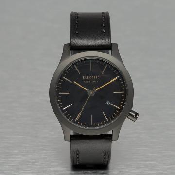 Electric horloge FW03 Leather zwart