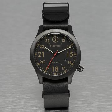Electric Reloj FW01 Leather negro