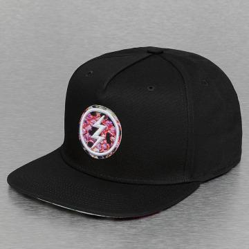 Electric Snapback Cap PRINT PACK black