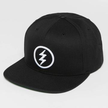 Electric Snapback Cap Volt schwarz