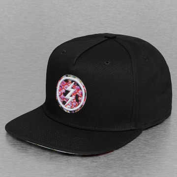 Electric snapback cap PRINT PACK zwart
