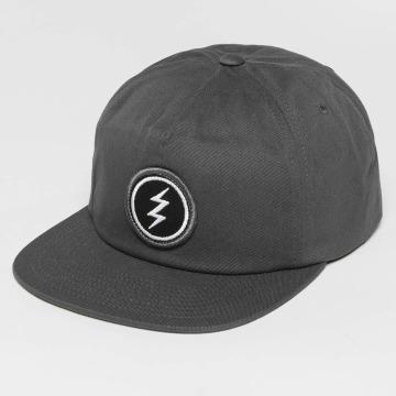 Electric Snapback Caps Volt Patch grå