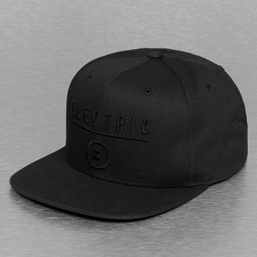 Electric Snapback Caps IDENTITY CORP svart