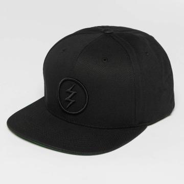 Electric Snapback Caps Volt svart