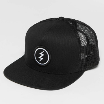 Electric Trucker Cap Volt Patch black
