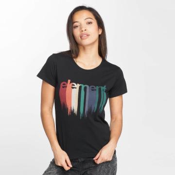 Element Camiseta Drip negro