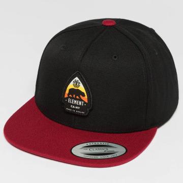 Element Snapback Caps Trekker czarny