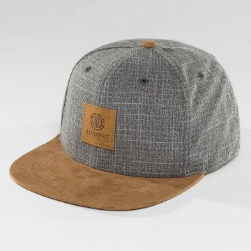 Element Snapback Caps State II grå