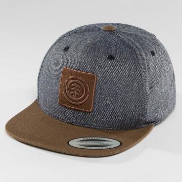 Element Snapback Caps United niebieski