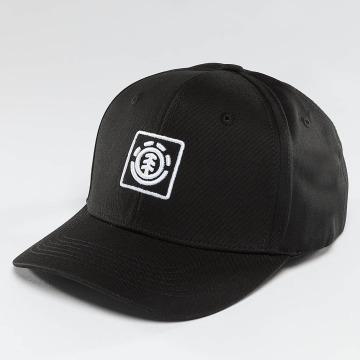 Element Snapback Caps Classic Treelogo svart