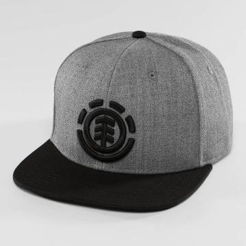 Element Snapback Caps Knutsen szary