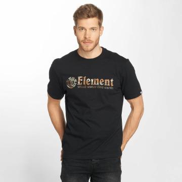 Element T-Shirt Horizontal Fill schwarz