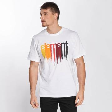 Element T-Shirt Drip weiß