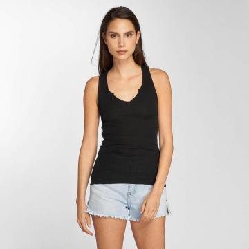 Element Tank Tops Lead negro