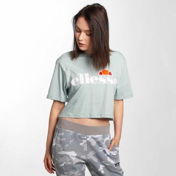 Ellesse t-shirt Alberta Crop blauw