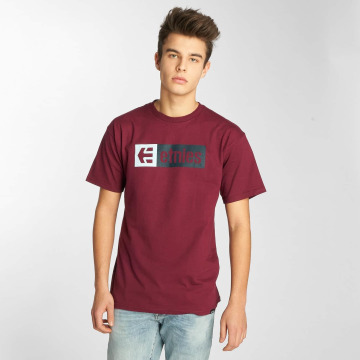 Etnies T-shirt New Box rosso