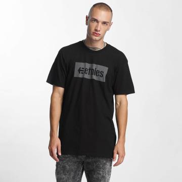 Etnies t-shirt Corp Box zwart