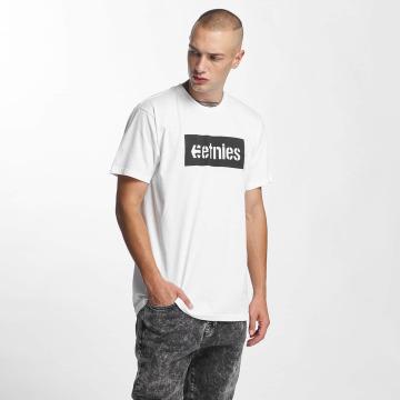 Etnies T-shirts Corp Box hvid